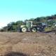 Rücketraktor bei Forstarbeiten